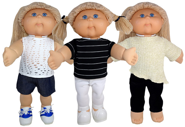 Cabbage Patch Trendy Transformable Top Pattern various