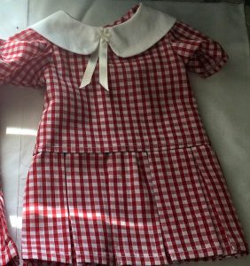 Dianne drop waist dress school uniforms cropped