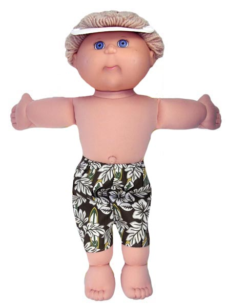 Capri pants doll clothes pattern