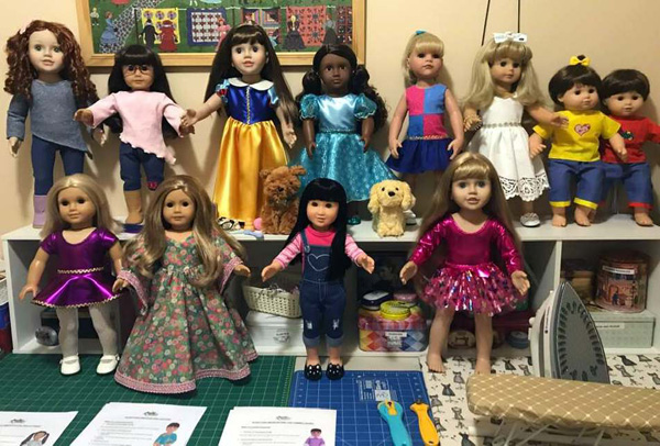 Debra Sharon various dolls and patterns cropped
