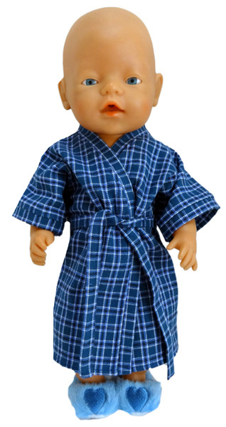 Dressing Gown doll clothes pattern