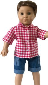 Ruth Kidd Boy doll clothes