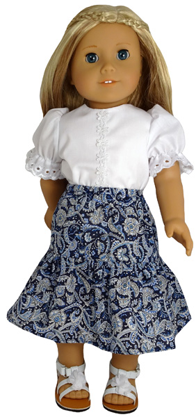 American Girl Peasant Skirt
