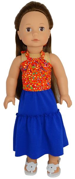 Gotz Doll Short Peasant Skirt