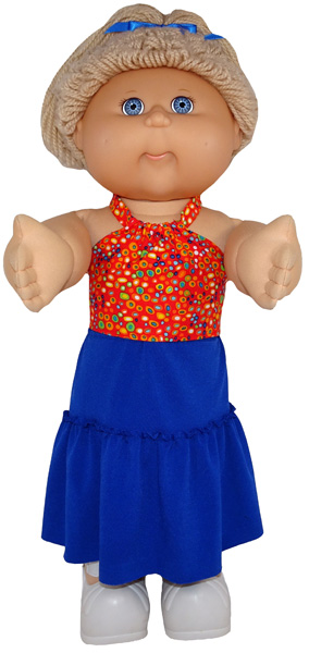 Cabbage Patch Kids Short Peasant Skirt