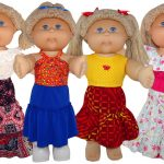 Peasant Skirt doll clothes pattern Cabbage Patch