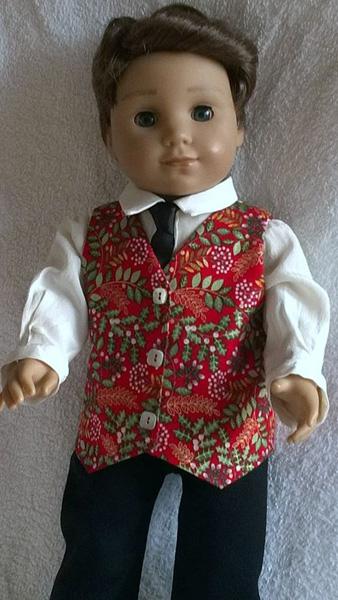 Ruth Kidd boy doll clothes 2019