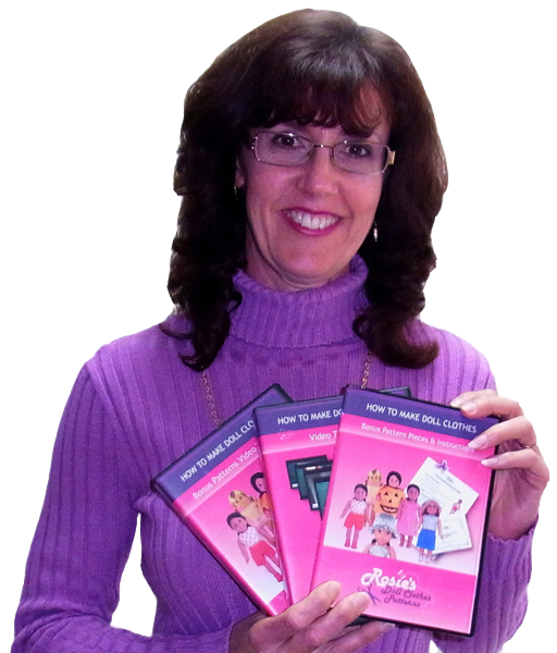 How to Make Doll Clothes DVD Course Clearance