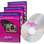 How to Make Doll Clothes DVD Course Sale