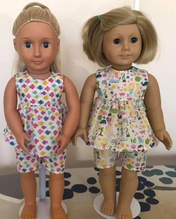 Helen summer dress pjs