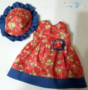 Summer Dress and Hat Wendy cropped