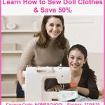 50% Off Learn How to Make Doll Clothes Video Course