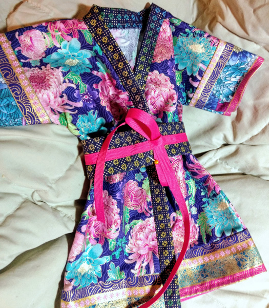 Susan Kimono from Summer Dressing Gown
