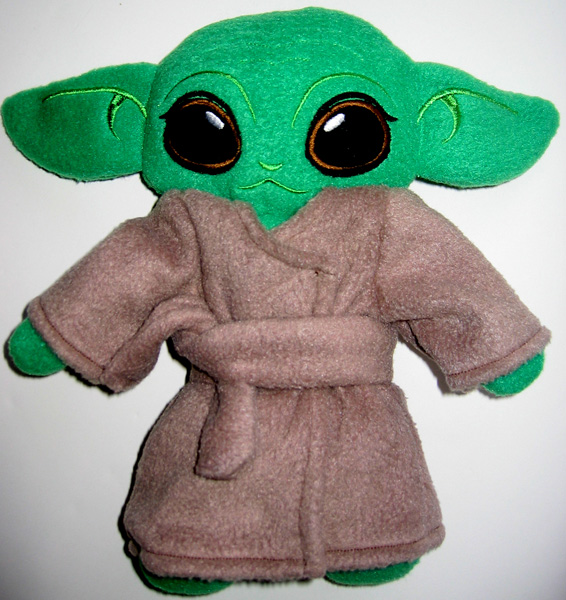 Yoda Coat Witches Costume