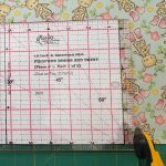 A great tip when using fat quarters
