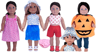 Rosies Doll Clothes Free Patterns