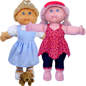 Cabbage Patch Dress Doll Clothes Patterns